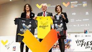 Presentación de la Maratón Valencia ique nicia `La Fiesta del Maratón¿celebrando su récord de inscritos e internacionalidad