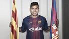 Presentación de Nahuel Leiva con el FC Barcelona