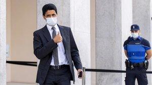 El presidente del PSG ha sido absuelto y no irá a la cárcel