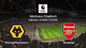 Previa del partido: el Wolverhampton Wanderers recibe en el Molineux Stadium al Arsenal