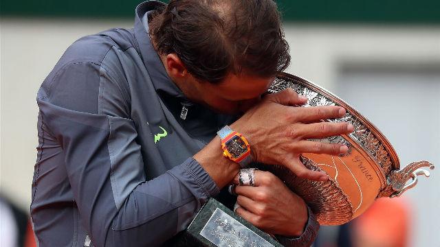 Rafa Nadal, campeón del Roland Garros