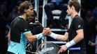 """Rafa Nadal dijo, tras vencer a Murray, que va \""""en la buena dirección\"""""""