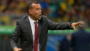 Rafael Dudamel celebró el empate ante Brasil
