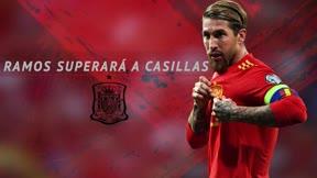 Ramos superará a Casillas y se acerca a Buffon en internacionalidades