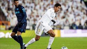 Raphael Varane defendió a Gareth Bale, tras el Real Madrid - Real Sociedad