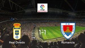 El Real Oviedo y el Numancia se reparten los puntos tras su empate a uno