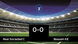 La Real Sociedad C y el Beasain KE sólo sumaron un punto (0-0)