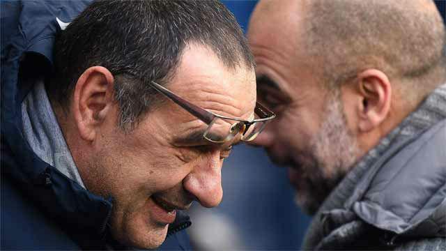 El recado de Guardiola a Sarri: A mí nunca me cuestionaron