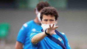 Rubi se ha despedido de la afición del Betis