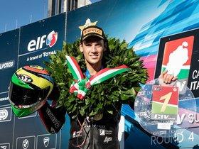 Savadori, campeón del CIV en Italia