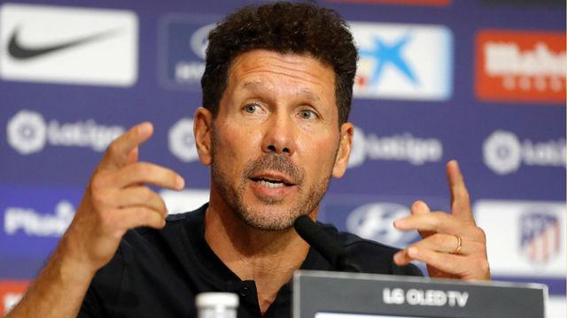 Simeone prefiere no involucrarse en la polémica por Griezmann: Estoy pensando en el partido del Celta