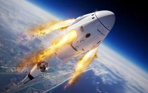 SpaceX completa con éxito el test de escape del Crew Dragon