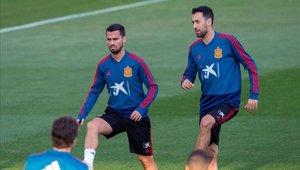 Suso jugó 81 minutos en el triunfo de España