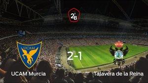 El Talavera de la Reina pierde 2-1 en casa del UCAM Murcia