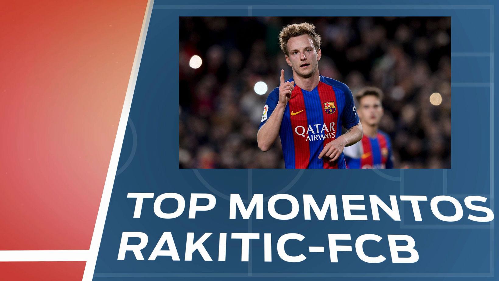 TOP 5: Momentos clave de Rakitic en el Barça