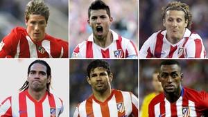 Torres, Agüero, Forlán, Falcao, Costa y Jackson dejaron pingües ingresos en las arcas del Atlético
