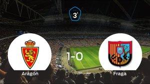 Tres puntos para el equipo local: Deportivo Aragón 1-0 Fraga