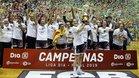 El Uni Girona celebró la conquista de la liga femenina cuatro años después