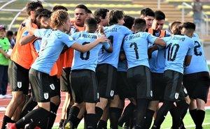 Uruguay no tuvo problemas para vencer a Argentina