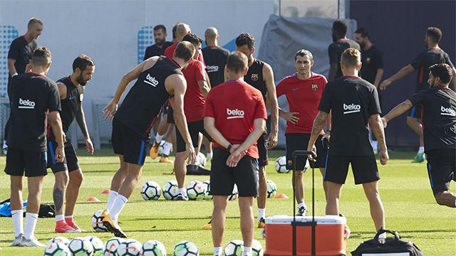 Valverde descartó a algunos futbolistas del filial de cara a la gira por Estados Unidos