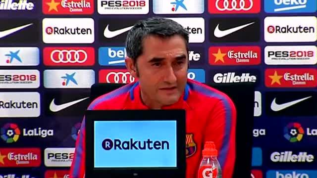 Valverde habló sobre la recuperación de Dembelé