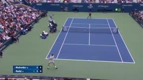Vea los mejores momentos del histórico partido entre Nadal y Medvedev