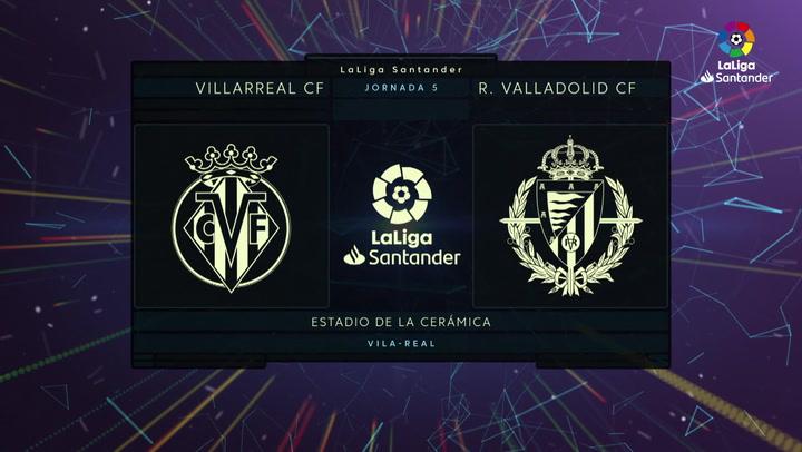 El Villarreal se lleva los tres puntos ante el Valladolid