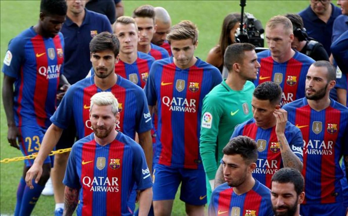 ec86d231f6b5d Qatar Airways vuelve a la camiseta del Barça