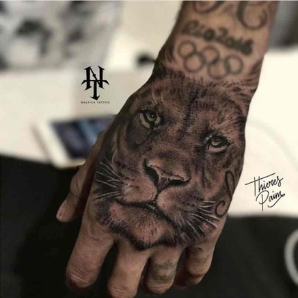 Vea El Espectacular Tatuaje Que Se Ha Hecho Neymar En La Mano