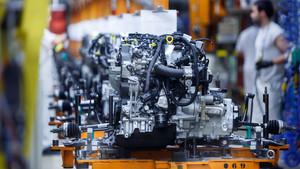 Fábrica del Volkswagen Polo en Navarra.