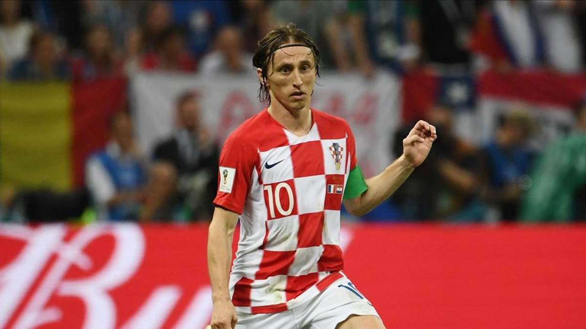 33aa2c164 Modric wins the Golden Ball at the World Cup