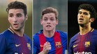 Abel Ruiz, Sergio Gómez y Aleñá, el futuro del Barça