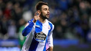 Adrián López confía en las opciones del Deportivo frente al Real Madrid en el Santiago Bernabéu