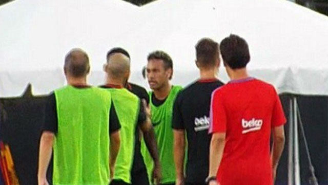Semedo explica por primera vez cómo fue su pelea con Neymar