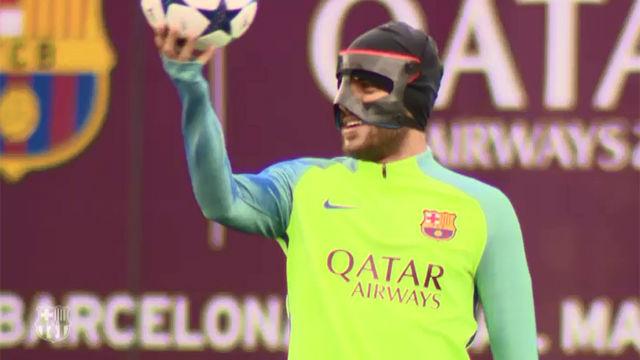 El Barça comienza a preparar la visita al PSG
