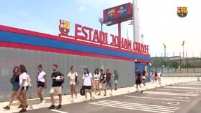 El Barça ya conoce su nueva casa: el Estadio Johan Cruyff