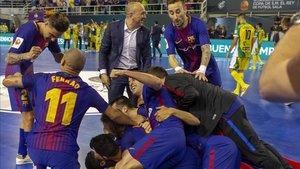 El Barça Lassa derrotó al Jaén Paraíso Interior en la última Copa del Rey