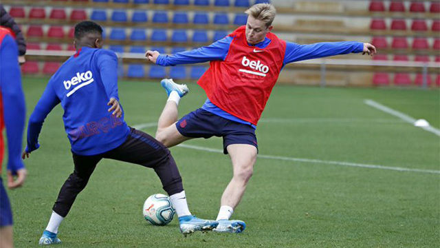 El Barça se prepara sin Ansu Fati ni Arthur para pasar otra reválida en el Camp Nou