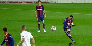 FC Barcelona - Ferencvaros partido correspondiente a la jornada 1 del grupo G de la UEFA Champions League disputado en el Camp Nou