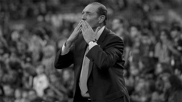 El FC Barcelona homenajeó a Quini en 2016