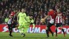 El FC Barcelona tropezó en San Mamés contra el Athletic