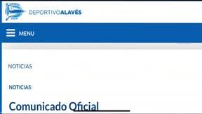 Comunicado del Alavés por la detención del jugador Olivier Verdon tras agredir a su pareja