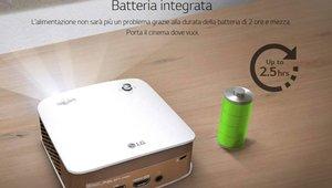 Convierte tu casa en un cine con el miniproyector LG PH150G