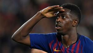 Dembélé marcó un golazo