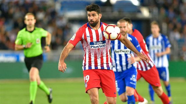 Diego Costa marcó...y se marchó lesionado