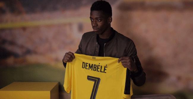 El Dortmund presenta a Dembélé