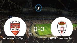 Empate (0-0) entre el Alcobendas Sport y el RCarabanchel