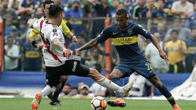 Empate entre Boca y River en la ida de la final de la Copa Libertadores