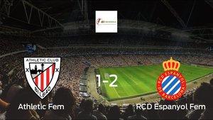 El Espanyol gana por 1-2 al Athletic Club