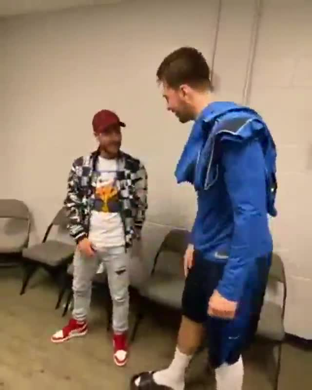 Esta es la diferencia de altura entre Hazard y Luka Doncic